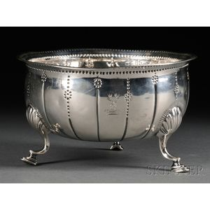 Irish Silver Footed Bowl