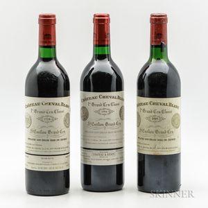 Chateau Cheval Blanc, 3 bottles