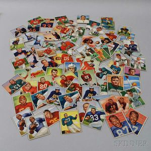 Group of Early Bowman and Topps Baseball and Football Cards