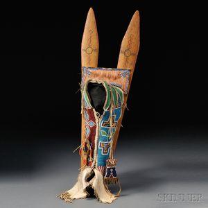 Kiowa Beaded Hide