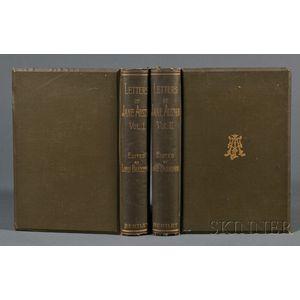 Austen, Jane (1775-1817) Letters