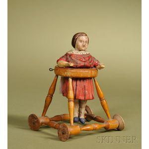 Child in Walker Toy