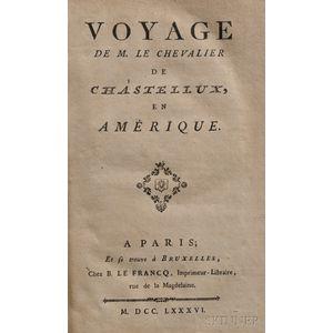 Chastellux, Francois-Jean, Marquis de (1734-1788) Voyage en Amerique
