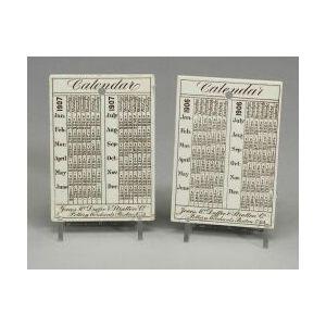 Fourteen Wedgwood Queen's Ware Calendar Tiles