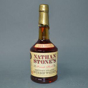 Nathan Stone Private Stock Bourbon, 1 750ml bottle