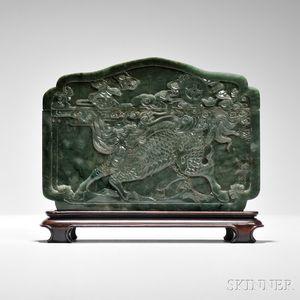 Jade Covered Box