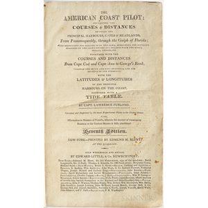 Furlong, Lawrence & Edmund March Blunt (1770-1862) The American Coast Pilot.