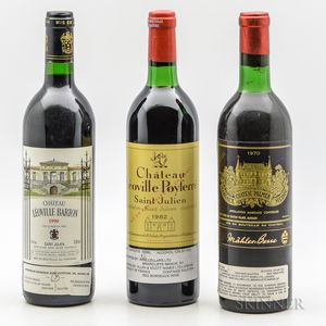 Mixed Bordeaux, 3 bottles