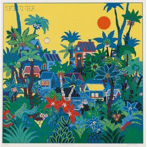 Edward Sokol (American, 1896-1969)      Jungle Sunrise