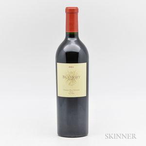 Blankiet Paradise Hills Vineyard Merlot 2001, 1 bottle
