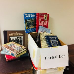 Eight Boxes of Mostly Civil War-era Books