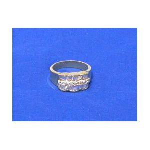18kt Gold and Diamond Band