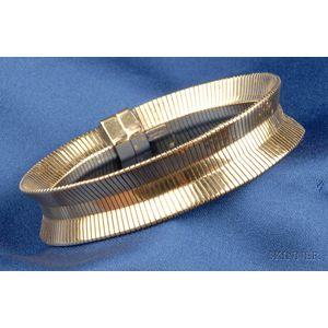 14kt Gold Bracelet, Forstner