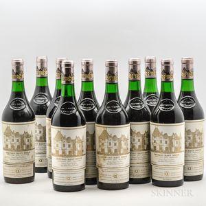Chateau Haut Brion 1975, 10 bottles