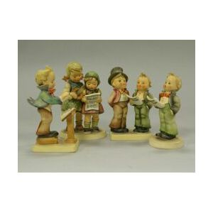 Four Hummel Ceramic Figures.