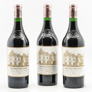 Chateau Haut Brion 2004, 3 bottles