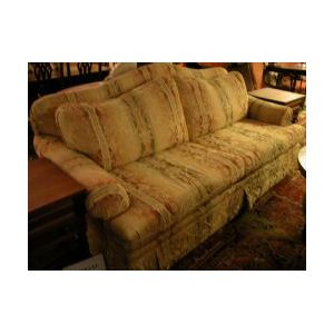 Contemporary Continental-style Upholstered Sofa.