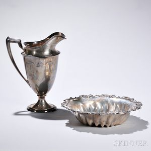 Two Pieces of Whiting Sterling Silver Tableware