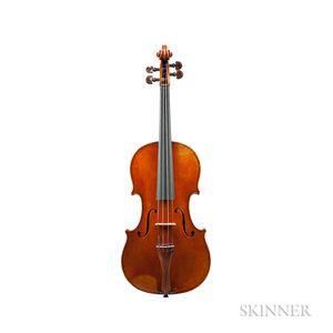 German Violin, Karl Gramm, Berlin, 1923