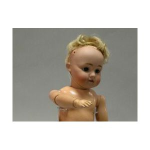 Kestner 143 Bisque Head Doll