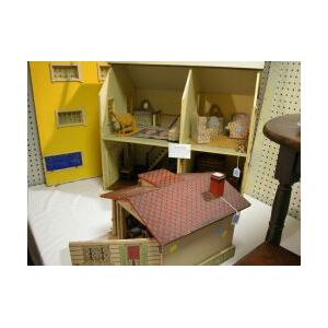 Two Doll Houses and Furniture