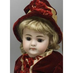 Simon Halbig 719 Closed Mouth Bisque Doll