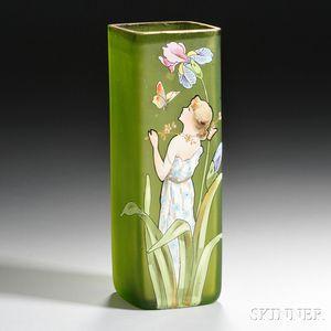 Art Nouveau Decorated Vase