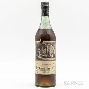 Delamain Grande Fine Champagne 1858, 1 4/5 quart bottle