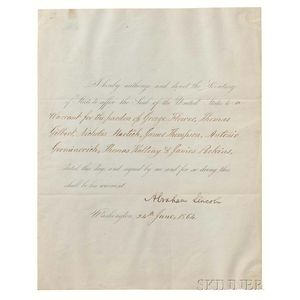 A Collection of Eight Signed Letters, Some Men of Fame   Autograph Collection, Various Dates.