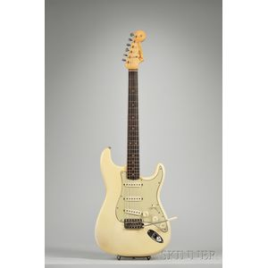 American Electric Guitar, Fender Electric Instruments, Fullerton, 1963,serial number