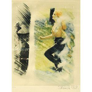 Mimmo Rotella (Italian, 1918-2006)      Untitled.
