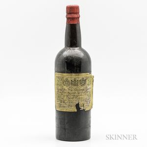 Torquinio T.da Camara Lomelino Madeira Grand Reserve 1805, 1 bottle