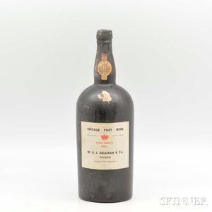 Grahams Vintage Port 1955, 1 magnum