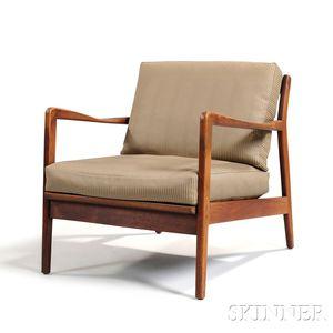 Scandinavian Design Lounge Chair