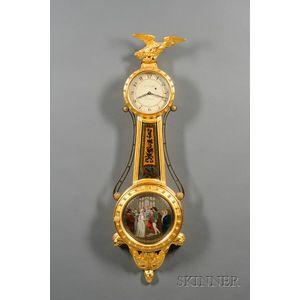 Girandole Clock by T. E. Burleigh, Jr.