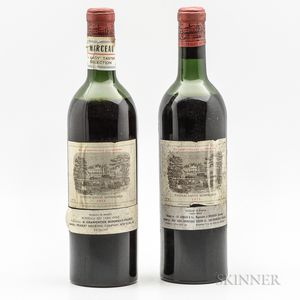 Chateau Lafite Rothschild 1955, 2 bottles
