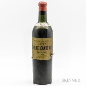 Chateau Brane Cantenac 1945, 1 bottle