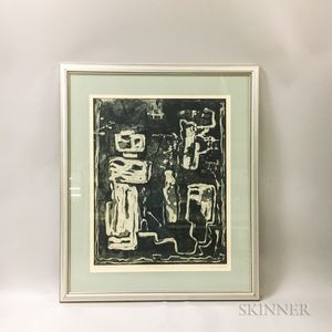Louise Nevelson (1900-1988) Solid Reflections   Print