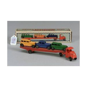Boxed Tootsietoy Auto Transport Truck