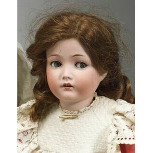 Cuno & Otto Dressel Flirty-Eyed Bisque Head Doll