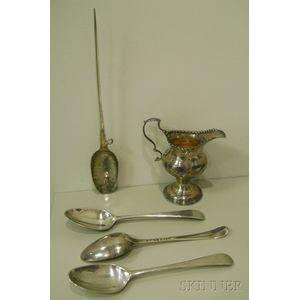 Four George III Silver Tablewares