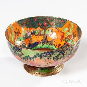 Wedgwood Flame Fairyland Lustre Punch Bowl