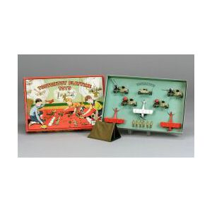 Boxed Tootsietoy Aerial Defense Set No. 5061