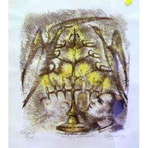 Framed Print Happy Chanukah