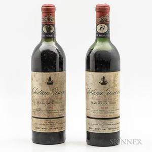 Chateau Giscours 1961, 2 bottles
