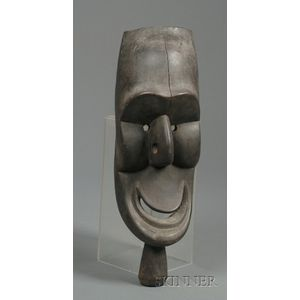Melanesian Carved Wood Mask