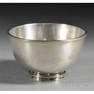 Margret Craver (1907-2010) Handwrought Silver Bowl