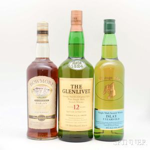 Mixed Single Malt, 5 750ml bottles 1 1-liter bottle