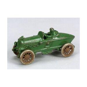 Green Cast Iron Racing Car