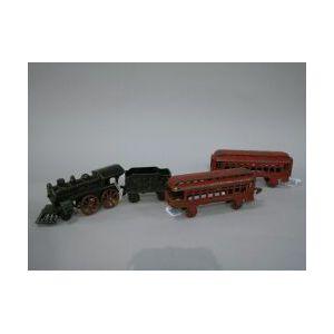 Cast Iron Floor Train